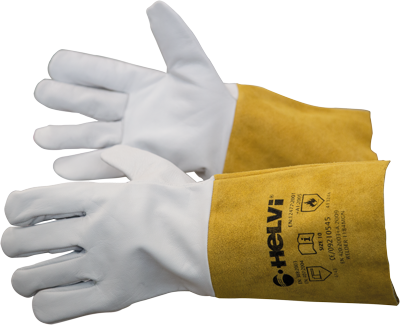 Pair of TIG professional welders gloves