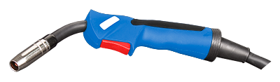 MIG torch 25 AL - 3m - Blue - Euro connection - for Aluminium