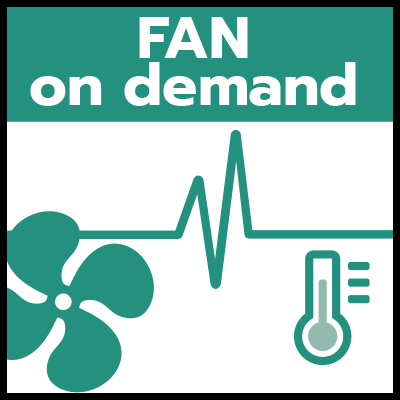 Fan on demand
