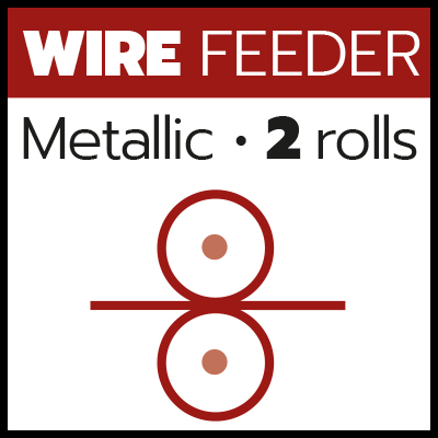 MIG_Metallic wire feeder 2 rolls