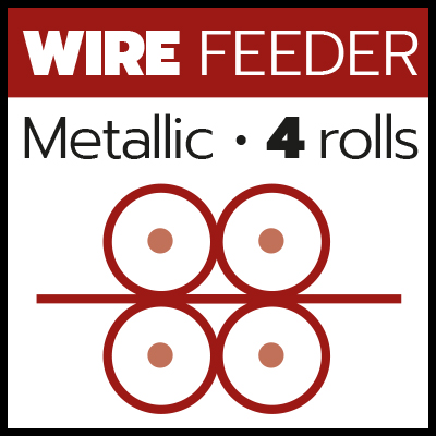MIG_Metallic wire feeder 4 rolls