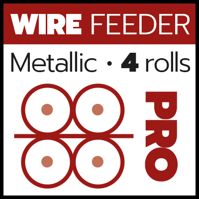 MIG_Metallic wire feeder 4 rolls PRO