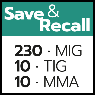 Save&Recall Multitech