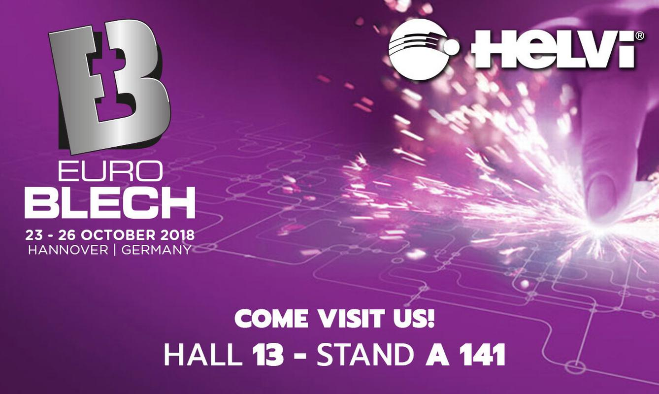 "We will be exhibiting at ""EuroBlech 2018"" from October 23th to 26th, 2018."