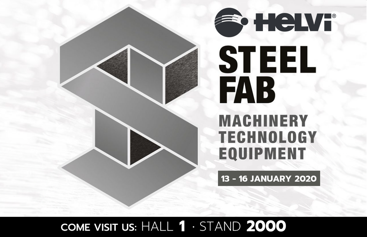 "We will be exhibiting at ""SteelFab 2020 · Dubai"" from January 13th to 16th, 2020."