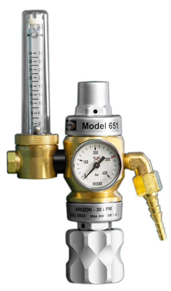 Pressure regulator Argon/CO2 double stage