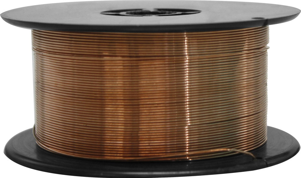 Mild steel wire spool - Ø 0,8mm - 0,8 Kg