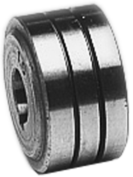 Roll • Ø 30 mm • 1,0 - 1,2 mm • for Aluminium